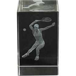 Cristal Tenis Femenino 3D