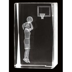 Cristal 3D - Baloncesto Femenino
