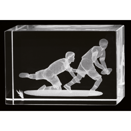 Cristal 3D - Rugby