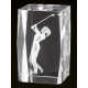 Cristal 3D - Golf Masculino
