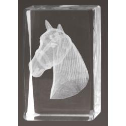 Cristal 3D - Caballo