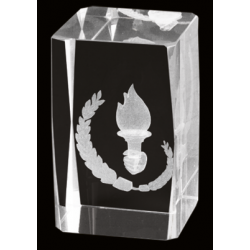 Cristal 3D - Alegorico